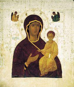 Святыня храма — икона Смоленской Божией Матери